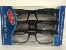 Lot of 6 Reading Glasses Kenneth  +2.00 New in Package