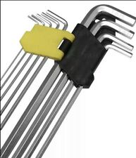 Tools 9 Pcs Hex Allen Key Set 1.5mm to 10mm with Long