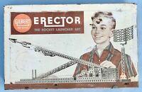 1959 Gilbert No 10053 The Rocket Launcher Set 50th Anniversary EMPTY METAL BOX