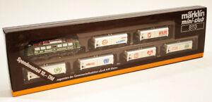 "Marklin 8113 ""Gross Hilft Klein"" UNICEF Train Set --  Green (Z-Scale)"