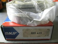 SKF 5209 A/C3  Ball Bearing, Double Row Angular Contact
