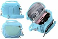Turquoise Blue Travel Bag Carry Case For New 2017 Nintendo 2DS XL