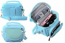 Blue Travel Bag Carry Case For Fuji Fujifilm instax Mini 9 Camera