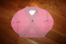 NWT Gymboree Star of the Show Size 5T Pink  Star Button Shrug Sweater