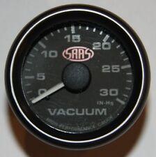 SAAS - 52mm Vacuum Gauge - Black face
