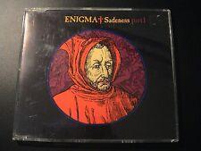 Enigma SADENESS PART I German 4-trk CD Maxi Single Import