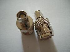 Adapter SMA Stecker auf PL Buchse ( UHF Buchse )  1 Stck.