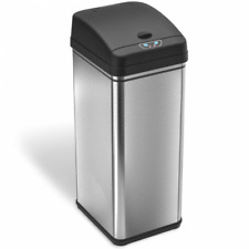 iTouchless Dzt13/It13Cb 13gal Deodorizer Automatic Touchless Sensor Trash Can