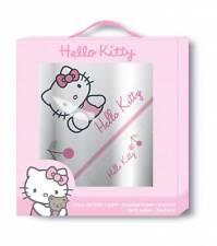 Hello Kitty 041793 Boite Cadeau badeponcho Laver gant serviette poncho