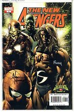 New Avengers 8 signed by Finch, McNiven and Morales Sentry Origin part 2