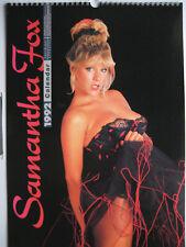 Samantha Fox calendar 1992 - 300mm x 420mm