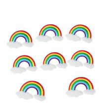 10 x Embroidery Rainbow Sew Iron On Patch Badge Bag Jeans Hat Applique DIY Craft