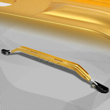 For 1988-2000 Honda Civic/CRX Front Lower Gold Aluminum Tower Strut Bar 95 98