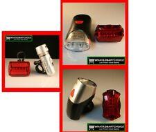 50 x LED Lamp Bike Bicycle Front Head Light + Rear Safety Flashlight WHOLESALE