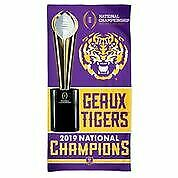 "LSU Wincraft 2019 National Championship 30"" x 60"" Beach Towel"