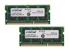 Crucial 16GB (2x 8GB) 204-Pin DDR3 SO-DIMM DDR3L 1600 (PC3L 12800) Laptop Memory