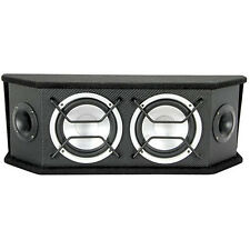 """Scosche Full Range Speaker System with Two 6.5"""" Woofers NEW"""