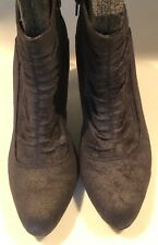Short Ankle Boots Size 8 1/2, Black, Civil War Reenactment, Theater, Victorian