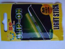 Qualyqualy Clip on Fishing Glow Sticks for Pole 20 10packs M 2.0-2.6mm