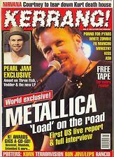 Kerrang UK Rock Mag No602 Metallica Kiss Ash Bon Jovi Korn Rancid Pearl Jam
