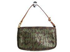 Auth LOUIS VUITTON Pochette Accessoires 21 Hand bag Graffiti M92191 (BF302048)