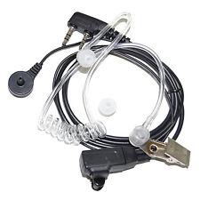 HQRP 2 Pin Micro-Auricular Micrófono para Kenwood NX420, NX240v, NX340u, NX220