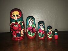 Russian nesting dolls matryoshka (5pc set)