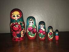 Russian nesting dolls matryoshka (5pc set)