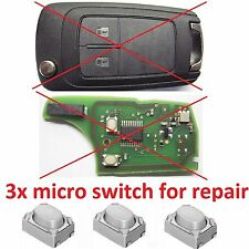 micro switch for repair remote key fob CHEVY CHEVROLET GM CRUZE SONIC BUICK GMC