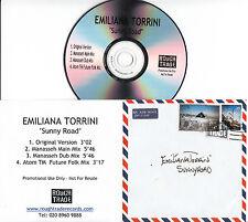 EMILIANA TORRINI Sunny Road 2005 UK 4-trk promo test CD