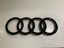 "Audi Emblem ""Ringe"" schwarz glänzend vorne A4,A6,A7,A8,Q3,Q5,Q7 83A071801"