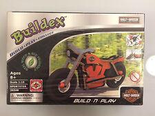 Buildex HARLEY DAVIDSON SPORTSTER Build-n-Play Wooden Model 20348 1:10 scale NIB