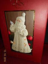 2006 Lenox Seasons Glow Santa w/ Bluebird Lighted Sculpture Figurine Nib