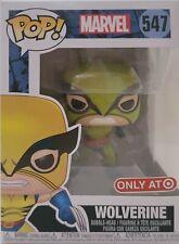 Funko Pop Marvel Metallic Wolverine #547 Target Exclusive