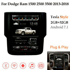 "10.4"" Android 7 Tesla Style Car GPS Radio for Dodge Ram 1500 2500 3500 2013-2019"