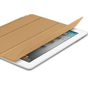 Genuine Apple iPad 2/3/4 Smart Cover Tan (Leather)