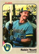 1983 Fleer Baseball // U Pick Cards - Build Your Set (1-220) // Buy4+ Save 50%