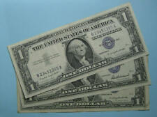 1957 57A 57B SILVER CERTIFICATES LOT 3 EXTREMELY FINE CONDITION INV#PM118-17