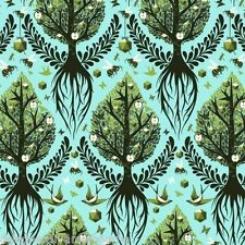 The birds and the bees Tree of Life Pool by Tula pink - yardage available