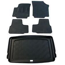 Gummi-Fußmatten+Kofferraumwanne unterer Ladeboden SEAT Mii ab 2012