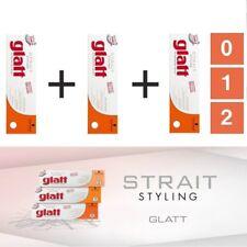 schwarzkopf glatt Strait Styling Straightener cream 3 box kit 0 1 2
