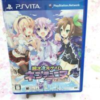 USED PS Vita Hyperdimension Neptunia Re;Birth1 PSV 93090 JAPAN IMPORT