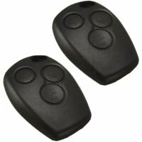 2x 3 Button Remote Key Fob Case Shell Cover For Renault Modus Clio Twingo Kangoo