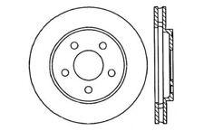 C-TEK Standard Disc Brake Rotor-Preferred fits 1985-1989 Plymouth Reliant Sundan