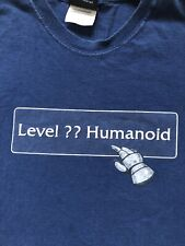 Blizzard World Warcraft WOW Level?? Humanoid T Shirt Size XL jinx