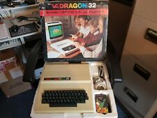 RARE VINTAGE DRAGON 32 COMPUTER SYSTEM (MINT BOXED)