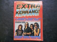 1980s Kerrang! Music Magazine Extra Number Two Exclusive