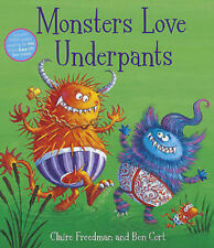 Preschool Story: Aliens Love Underpants Series: MONSTERS LOVE UNDERPANTS - NEW