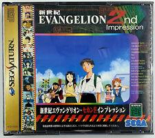 Neon Genesis Evangelion 2nd impression - Sega Saturn - Boite double - NTSC-J JAP