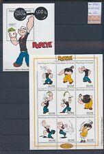 XC15788 Guinea 1998 Popeye cartoons sheets XXL MNH cv 22 EUR